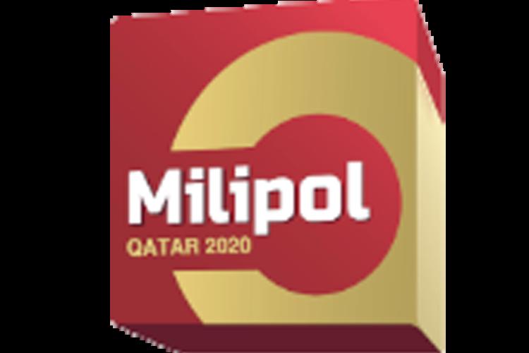 Milipol Qatar 2020 logo.
