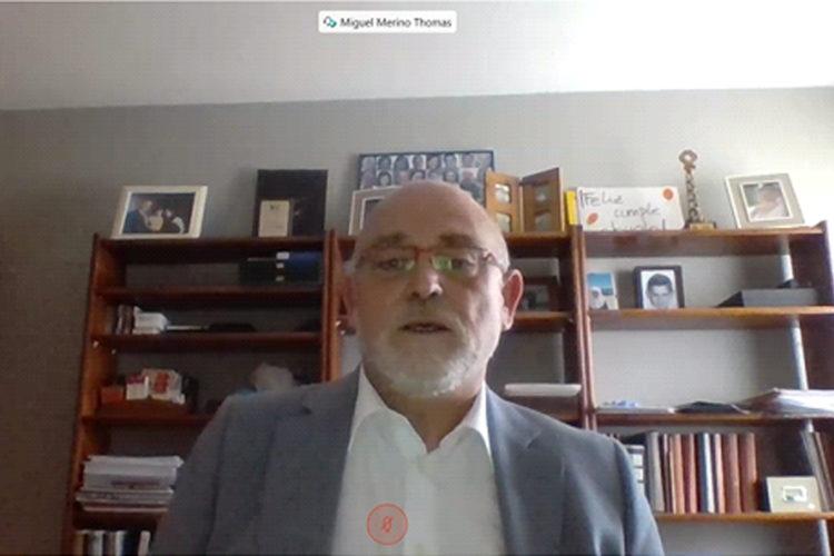 Miguel Merino, miembro del comité asesor de la Fundación Borredá.