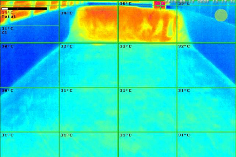 tecnología termográfica