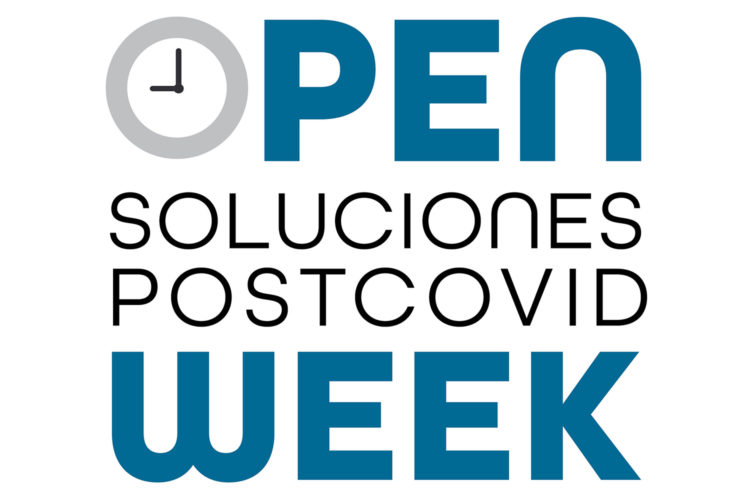 Open Week azul.