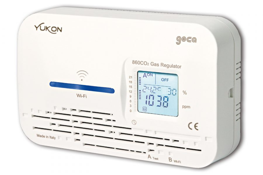 detector de dióxido de carbono