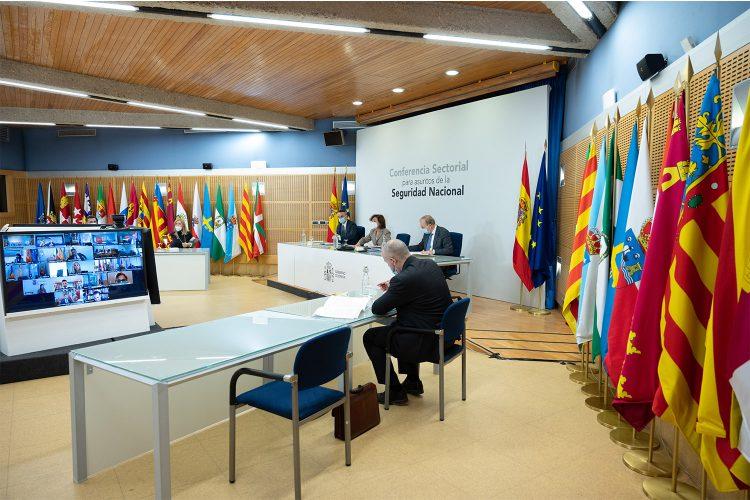 Reunión de la Conferencia Sectorial para Asuntos de la Seguridad Nacional 2020.