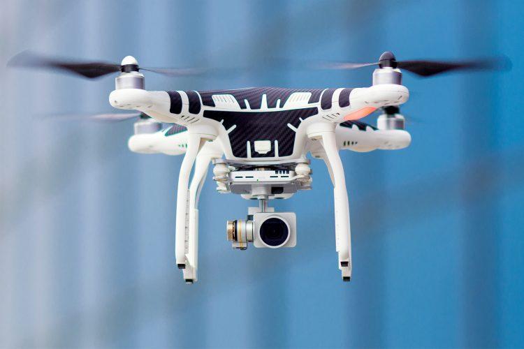 Un drone, tecnología con muchas aplicaciones de seguridad