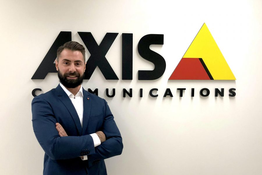 Pablo Sastre, National Sales Manager para España y Portugal de Axis Communications.