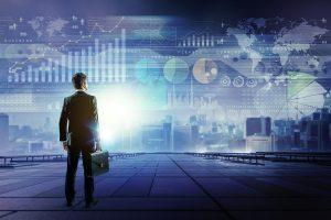 Inteligencia empresarial alimentada por datos.