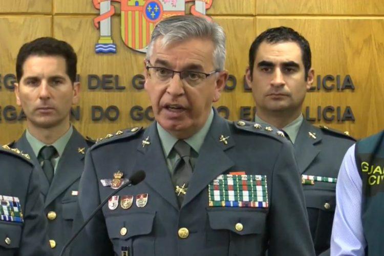 Manuel Sanchez Corbí, hasta ahora responsable del servicio de seguridad privada de la Guardia Civil