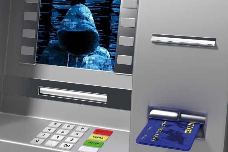 Ciberataque contra un cajero automático.