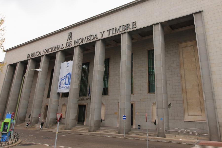 Fabrica Nacional de la Moneda y Timbre.