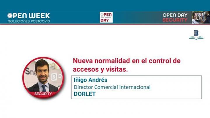 Íñigo Andrés. Dorlet. Open Week 2020