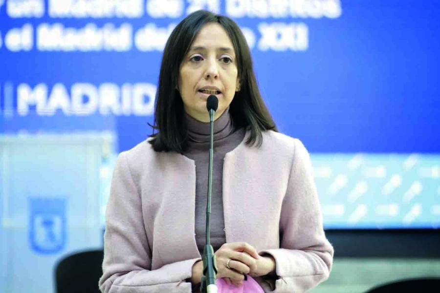 Mercedes González, próxima delegada del Gobieno en Madrid.