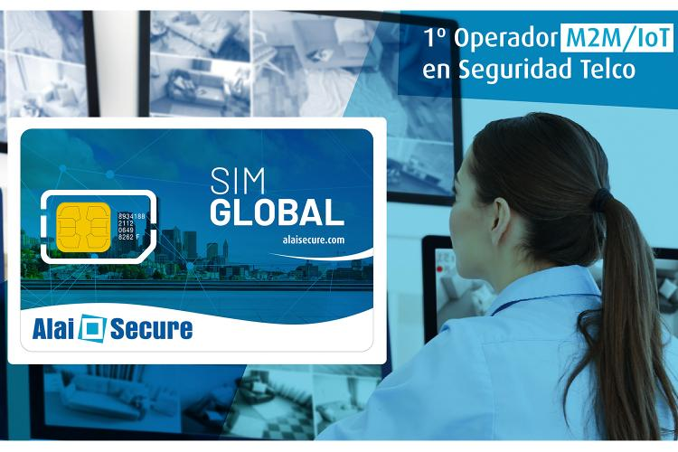 SIM Global de Alai Secure.