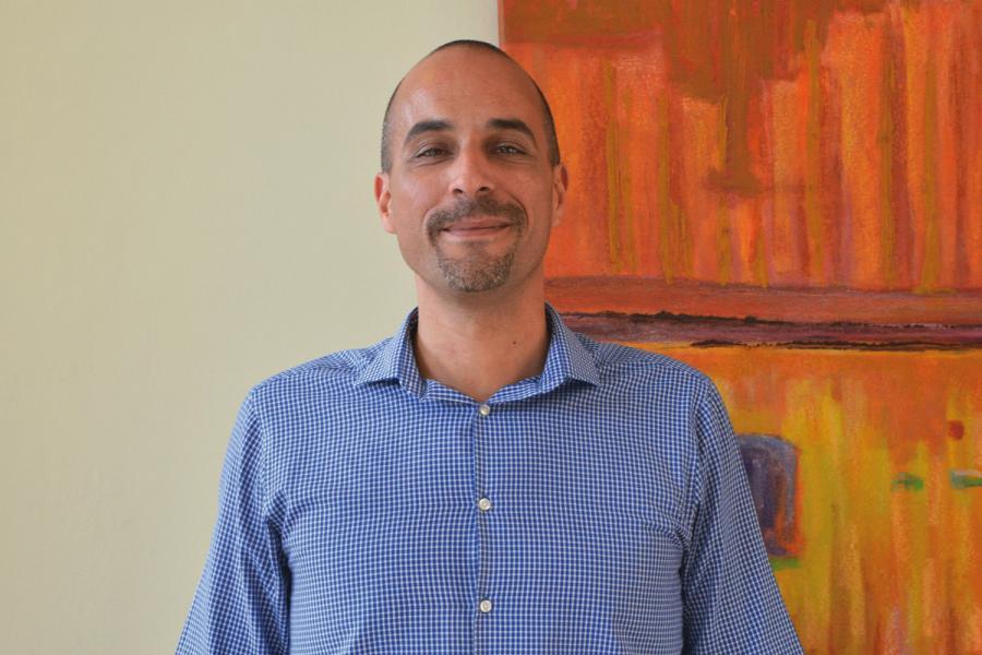 Victor Gil jefe de Seguridad de la Autoridad Portuaria de Tenerife.