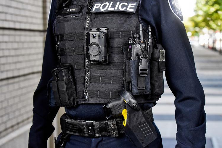 Equipamiento para la policía de Axon.