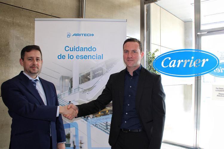Acuerdo entre Aritech y Redstone Engineering.