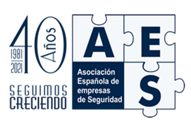 Logotipo del 40 aniversario de AES.