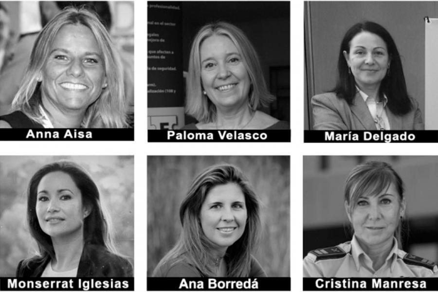 Fundadoras del Observatorio Mujer y Seguridad.