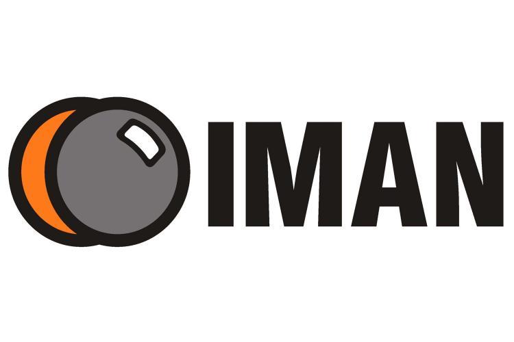 Logotipo de Iman Seguridad.