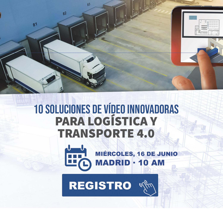 Webinar Scati. 10 soluciones de vídeo innovadoras para logística y transporte 4.0.