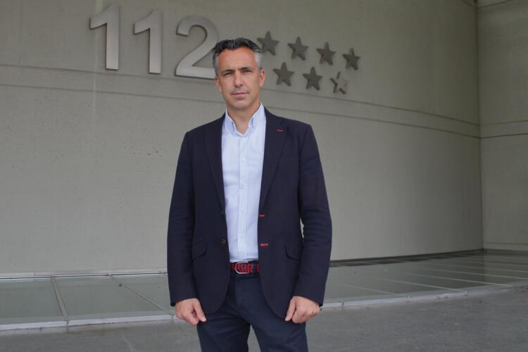 Carlos Novillo Piris, viceconsejero de Interior y director de la Agencia de Seguridad y Emergencias Madrid 112.