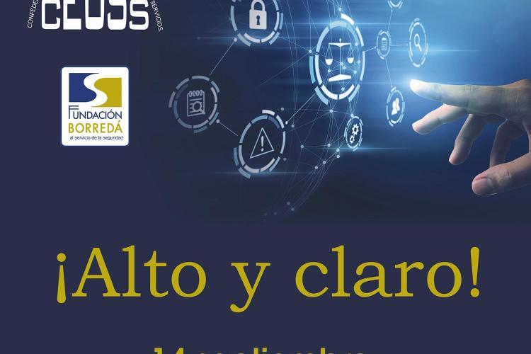 """""""Alto y claro"""": jornada de CEUSS sobre servicios de seguridad privada."""