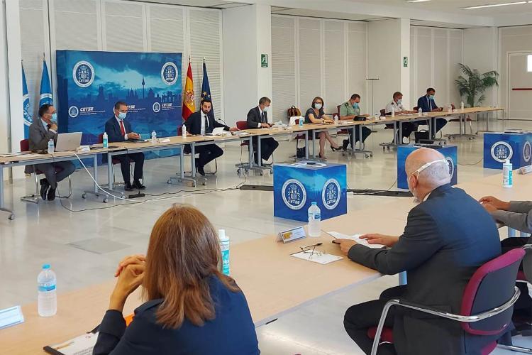 Reunión de la Comisión de Protección de las Infraestructuras Críticas.