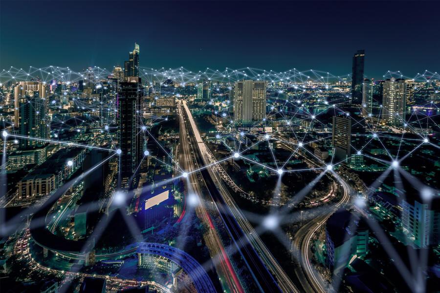 Comunicaciones en la ciudad.