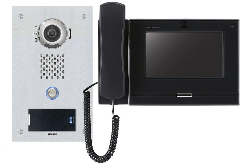 Control de accesos de la serie IX de Aiphone.