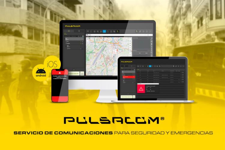Pulsacom, servicio de comunicaciones para seguridad y emergencias.