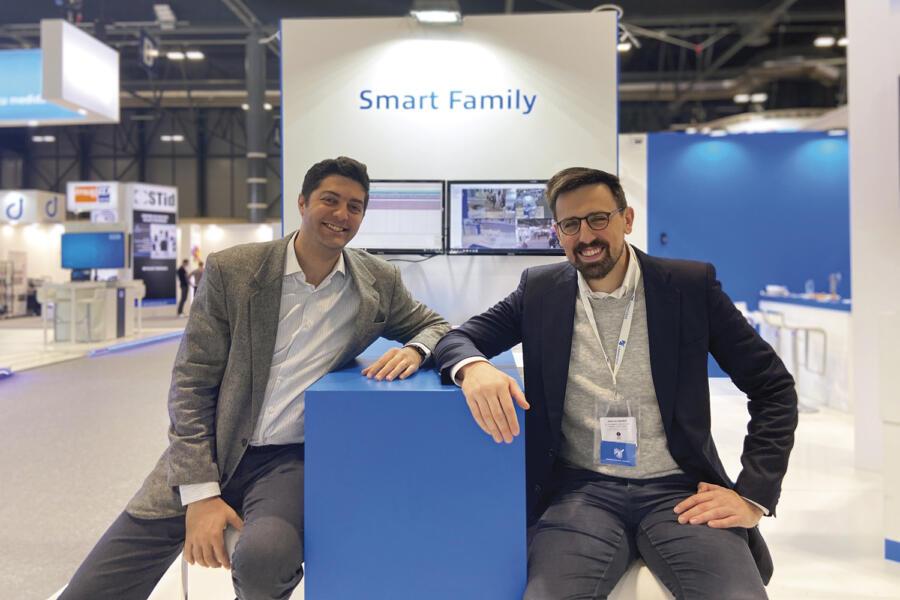 Daniel Di Cecco y Fernando Guillem. Co-CEOs de Lanaccess.