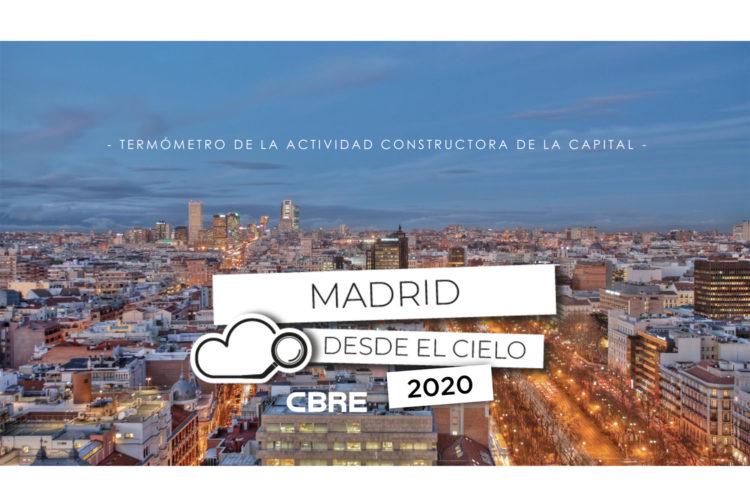 madrid desde el cielo 2020 CBRE
