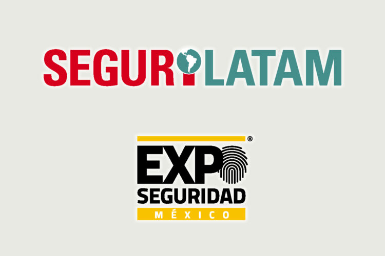 logotipos de Segurilatam y Expo Seguridad México